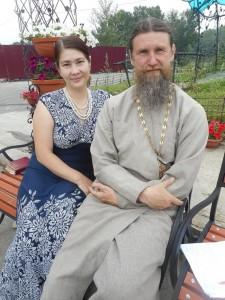 Отец Александр и матушка Елена